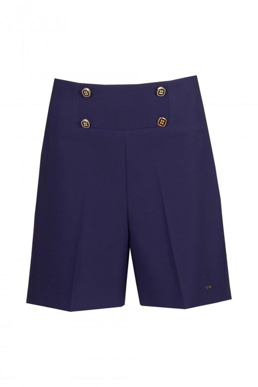 Pantalones cortos de cintura alta