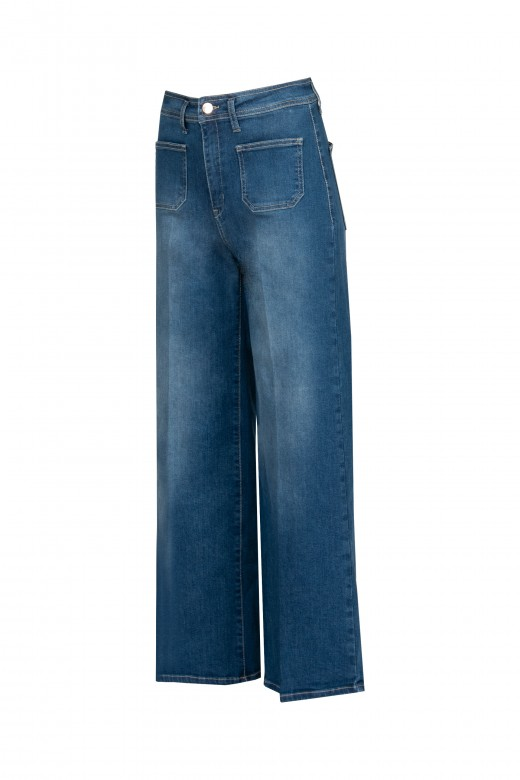 Pantalones vaqueros de campana
