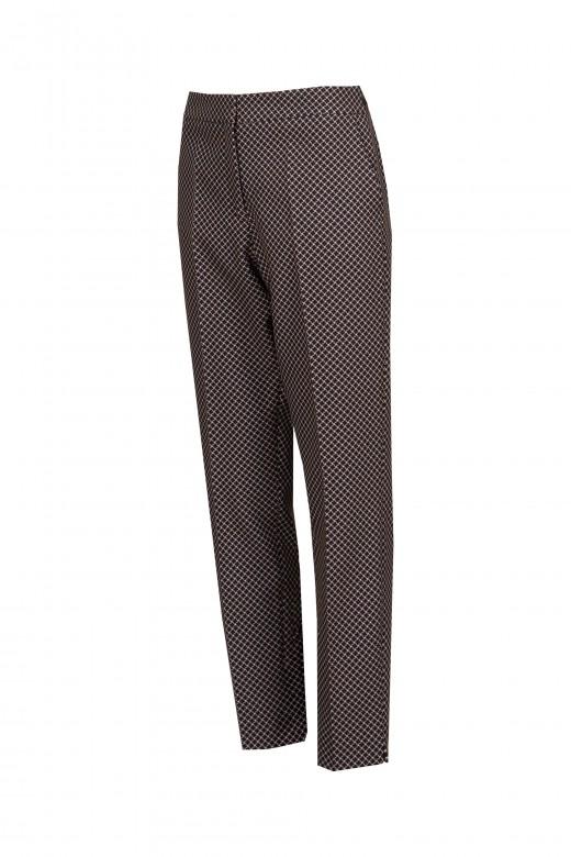 Pantalón slim estructurado