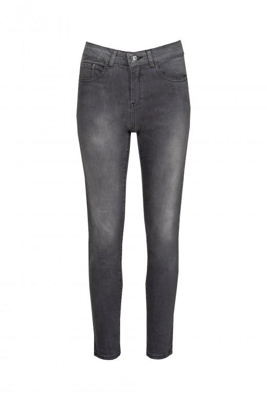 Jeans avec éclats latéraux