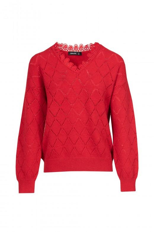 Suéter de punto 91209