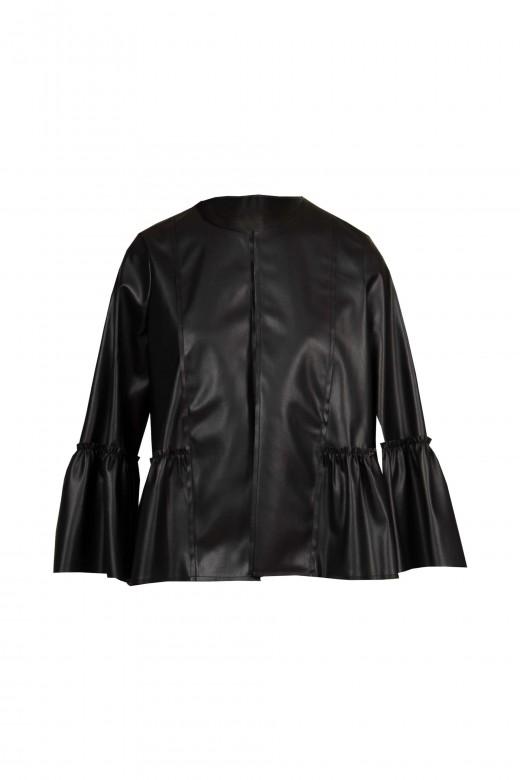 Coat in napa