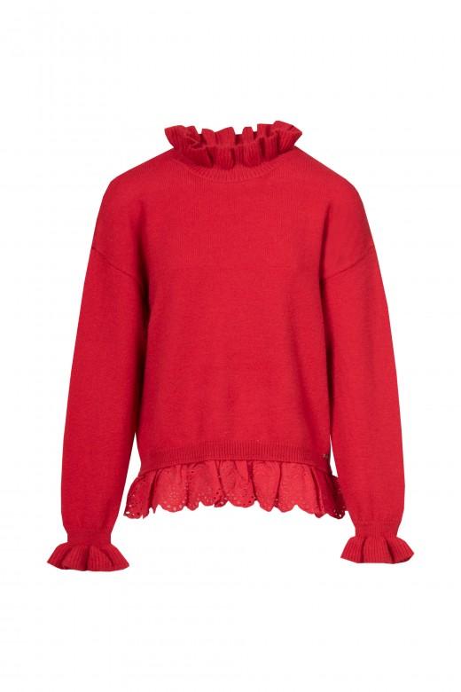 Knitted sweatshirt 91213