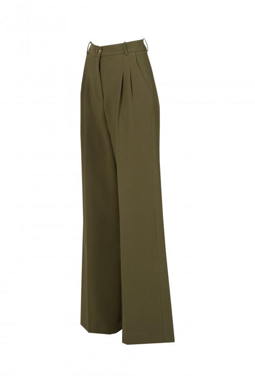 Pleated pantaloons