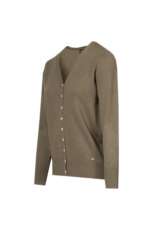 Basic knit coat