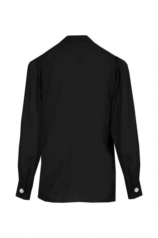 Crossed blouse