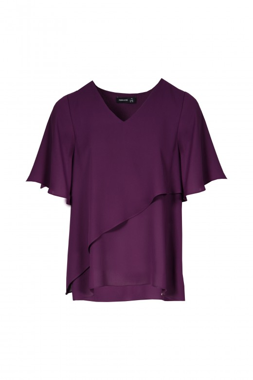 Tunic with double top