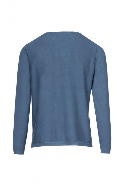 Shirt with side stripe