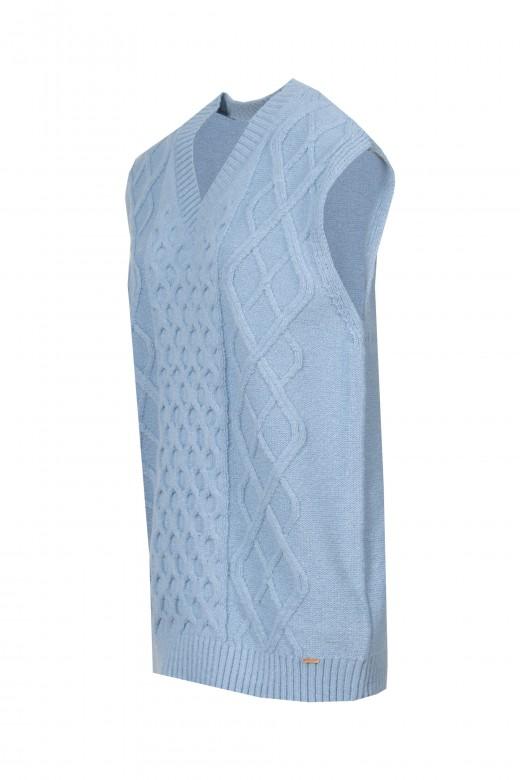 Braided vest