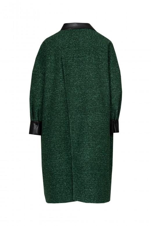 Manteau avec nappa