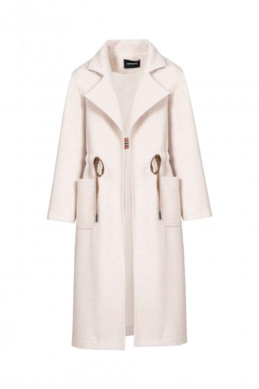 Long wool coat