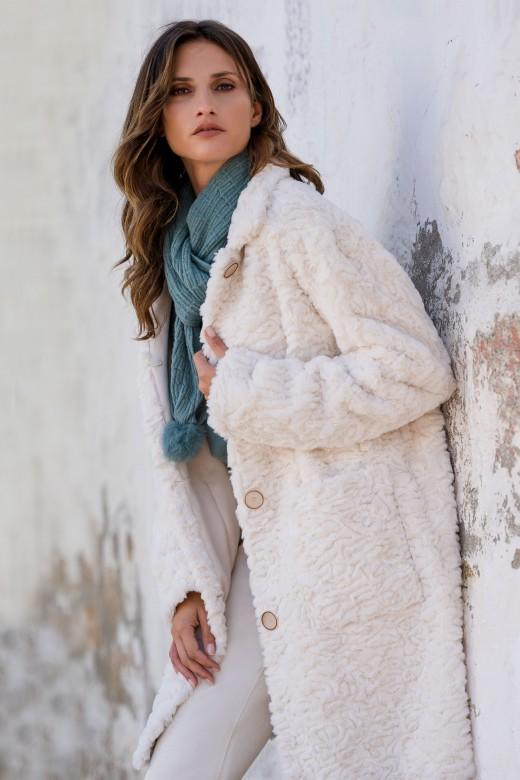 Midi fur coat